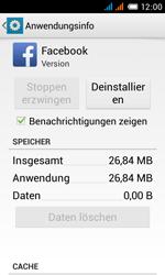 Alcatel One Touch Pop C3 - Apps - Eine App deinstallieren - Schritt 6