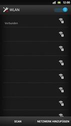 Sony Xperia S - WiFi - WiFi-Konfiguration - Schritt 6