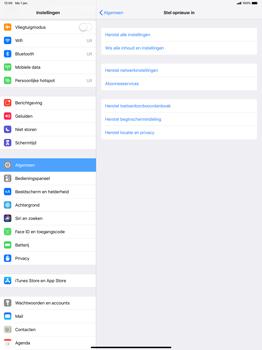 Apple ipad-pro-12-9-inch-2018-model-a1895 - Resetten - Fabrieksinstellingen terugzetten - Stap 5