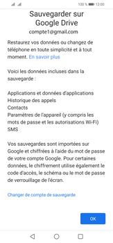 Huawei P30 Lite - Données - créer une sauvegarde avec votre compte - Étape 11