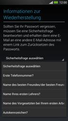 HTC One - Apps - Konto anlegen und einrichten - 13 / 25