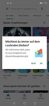 Huawei Nova 5T - Apps - Einrichten des App Stores - Schritt 21
