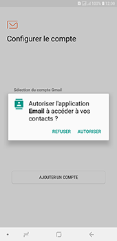 Samsung Galaxy J6 Plus - E-mails - Ajouter ou modifier votre compte Outlook - Étape 5