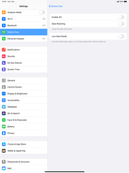 Apple iPad Pro 12.9 (2nd gen) - iPadOS 13 - Network - How to enable 4G network connection - Step 5