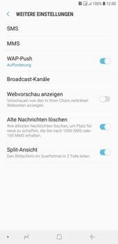 Samsung Galaxy J4+ - SMS - Manuelle Konfiguration - 7 / 12