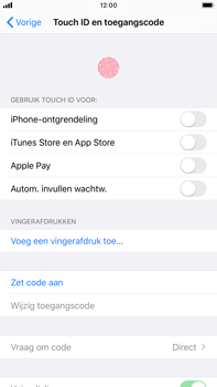 Apple iPhone 8 Plus - iOS 13 - Beveiliging - stel in of wijzig pincode voor je toestel - Stap 4