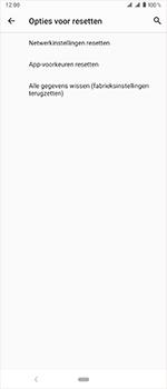 Sony Xperia 1 - Toestel reset - terugzetten naar fabrieksinstellingen - Stap 7