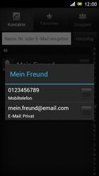 Sony Xperia J - MMS - Erstellen und senden - 1 / 1