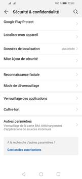 Huawei Y6 (2019) - Sécurité - modifier SIM PIN - Étape 4