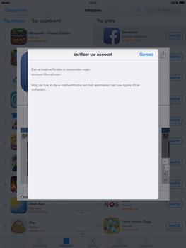 Apple iPad 2 iOS 8 - Applicaties - Account aanmaken - Stap 25