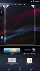 Sony Xperia Z1 - Operazioni iniziali - Installazione di widget e applicazioni nella schermata iniziale - Fase 5