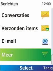Nokia X2-00 - SMS - Handmatig instellen - Stap 4