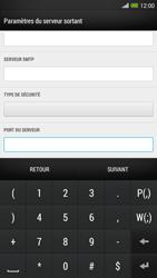 HTC One Max - E-mail - configuration manuelle - Étape 15