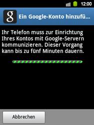 Samsung Galaxy Y - Apps - Konto anlegen und einrichten - 8 / 21