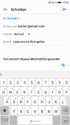 Huawei Honor 9 - E-Mail - E-Mail versenden - 10 / 19