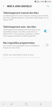 Samsung Galaxy J4+ - Aller plus loin - Mettre à jour le logiciel interne de votre mobile - Étape 6