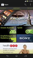 Sony Xperia Z - Apps - Einrichten des App Stores - Schritt 16
