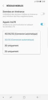Samsung Galaxy S8 Plus - Android Oreo - Réseau - Activer 4G/LTE - Étape 7