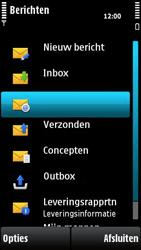 Nokia X6-00 - E-mail - hoe te versturen - Stap 4