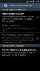 Samsung I9301i Galaxy S III Neo - Fehlerbehebung - Handy zurücksetzen - Schritt 8