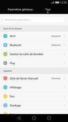 Huawei P8 - Internet - activer ou désactiver - Étape 3