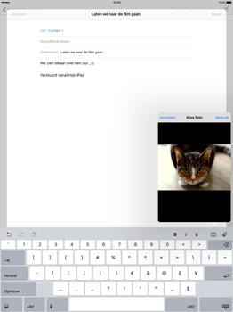 Apple iPad Pro - E-mail - E-mail versturen - Stap 11