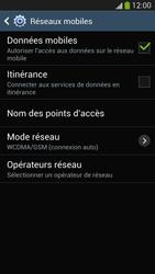 Samsung Galaxy S4 - Internet et connexion - Activer la 4G - Étape 6