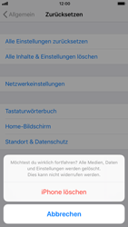 Apple iPhone 7 iOS 11 - Gerät - Zurücksetzen auf die Werkseinstellungen - Schritt 7
