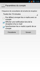 Wiko Darkmoon - E-mail - Configuration manuelle - Étape 16
