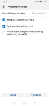 Huawei P30 Pro - E-mail - e-mail instellen (yahoo) - Stap 8