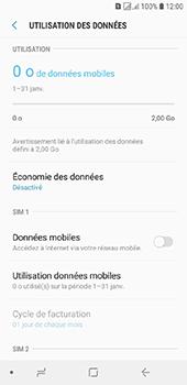 Samsung Galaxy J6 - Internet et connexion - Désactiver la connexion Internet - Étape 7