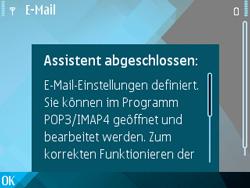 Nokia E71 - E-Mail - Konto einrichten - Schritt 23
