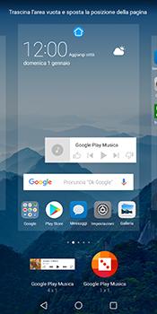 Huawei Mate 10 Pro - Operazioni iniziali - Installazione di widget e applicazioni nella schermata iniziale - Fase 8