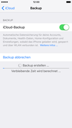 Apple iPhone 7 - Software - iCloud synchronisieren - 7 / 9