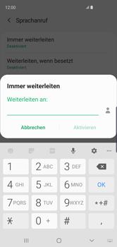 Samsung Galaxy S10 - Anrufe - Rufumleitungen setzen und löschen - 12 / 15