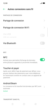 Oppo Find X2 Lite - Internet et connexion - Partager votre connexion en Wi-Fi - Étape 5