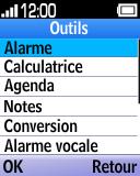 Alcatel OT-1035 - Premiers pas - Spécificités produits - Étape 4