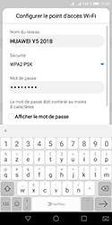 Huawei Y5 (2018) - Internet - comment configurer un point d'accès mobile - Étape 7