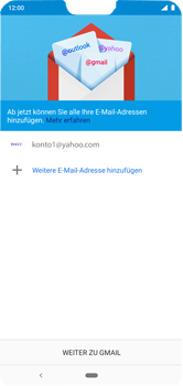 Nokia 6.1 Plus - E-Mail - Konto einrichten (yahoo) - 13 / 18