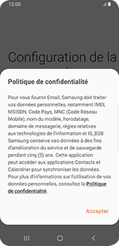 Samsung Galaxy S9 - Android Pie - E-mail - 032c. Email wizard - Outlook - Étape 10