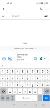 Huawei Nova 5T - Contact, Appels, SMS/MMS - Envoyer un SMS - Étape 6