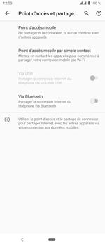 Sony Xperia 5 - WiFi - Comment activer un point d'accès WiFi - Étape 6