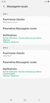 Samsung Galaxy J4 Plus - Messagerie vocale - configuration manuelle - Étape 8