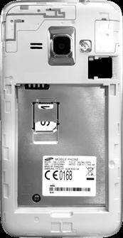 Samsung Galaxy J1 (2016) - SIM-Karte - Einlegen - 4 / 8