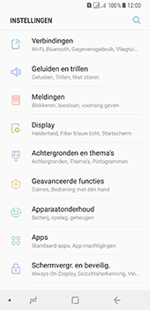 Samsung Galaxy A8 (2018) - internet - data uitzetten - stap 4