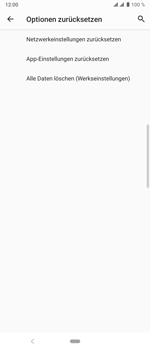 Sony Xperia 10 Plus - Fehlerbehebung - Handy zurücksetzen - Schritt 9