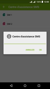 Acer Liquid Z630 - SMS - configuration manuelle - Étape 9