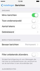 Apple iPhone 5s iOS 10 - MMS - probleem met ontvangen - Stap 11