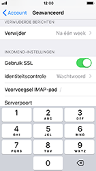Apple iPhone SE - iOS 12 - E-mail - e-mail instellen: IMAP (aanbevolen) - Stap 25