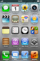 Apple iPhone 4S met iOS 5 (Model A1387) - Internet - Uitzetten - Stap 1